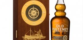 Luxusbárka – Old Pulteney 35 YearOld