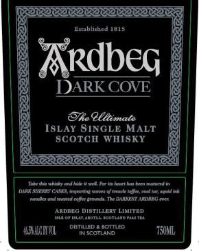 Sötétedés – Ardbeg DarkCove