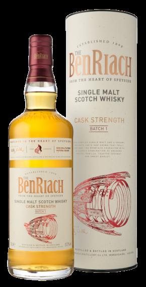 Erőre kaptak – BenRiach Cask Strength Batch1