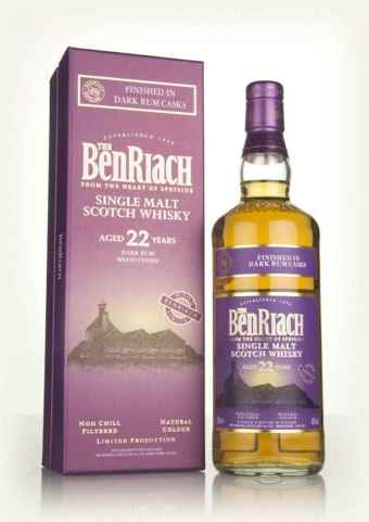 benriach-22-year-old-dark-rum-cask-finish-whisky