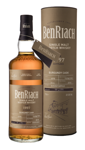 Speyside nagy dózisban – BenRiach Single Cask Batch 15
