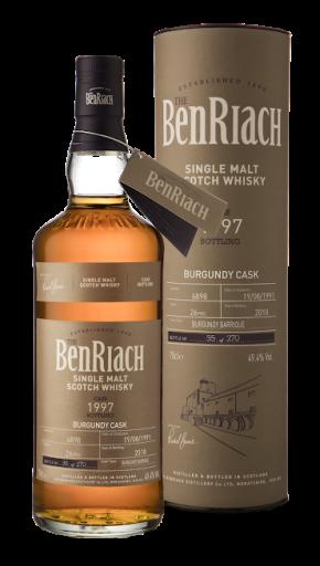 Speyside nagy dózisban – BenRiach Single Cask Batch15