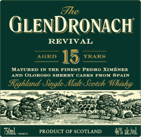 Újra él ! – GlenDronach 15 Year Old Revival 2018