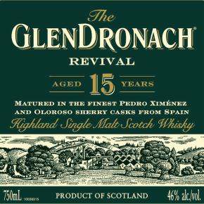 Újra él ! – GlenDronach 15 Year Old Revival2018